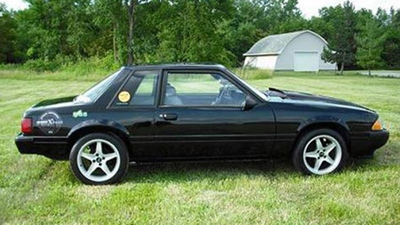 Doug Pelmar S 1987 Ford Mustang Lx Coupe Might Have Just Become Our Favorite X Prize Compeor How Come Well First Off Coupes Are Awesome To Begin