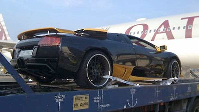 Owner Ships Lambo From Qatar To London And Back For Oil Change