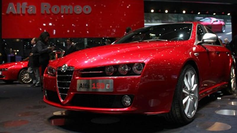 Poor Sales Mean Alfa Replacement Coming Soon With US In Sight - Alfa romeo brera for sale usa