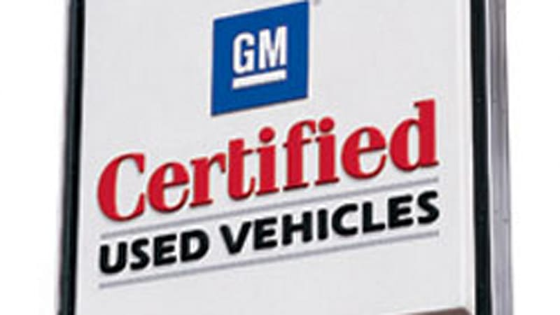 GM adds 12-month/12,000-mile bumper-to-bumper warranty on
