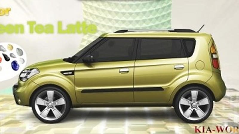 Kia Soul Colors >> Kia Soul To Come In A Rainbow Of Colors Autoblog