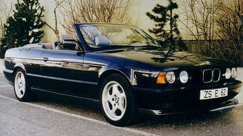Stillborn 1989 BMW M5 convertible  Autoblog