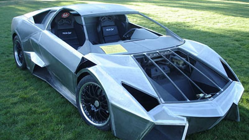 Ultimate Fiero Resurrection Lamborghini Reventon Replica Autoblog