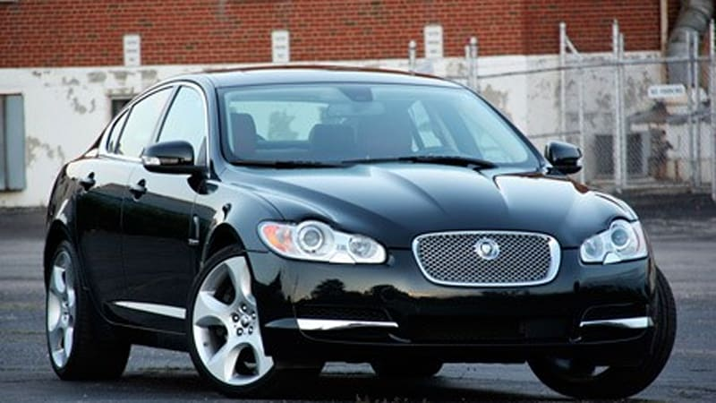 review 2009 jaguar xf supercharged autoblog. Black Bedroom Furniture Sets. Home Design Ideas