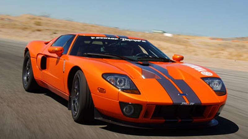 Steven Millen And His Ford Gt Ready To Run In Dunlop Targa Rally