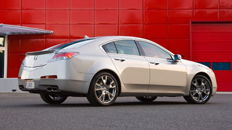 Honda announces 6speed manual for 2010 Acura TL  Autoblog