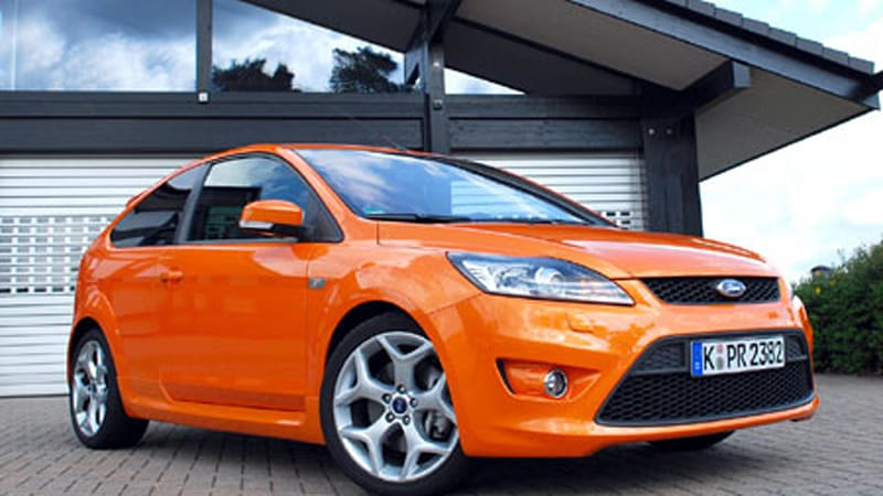 First Drive: 2008 Ford Focus ST (Euro-spec)   Autoblog
