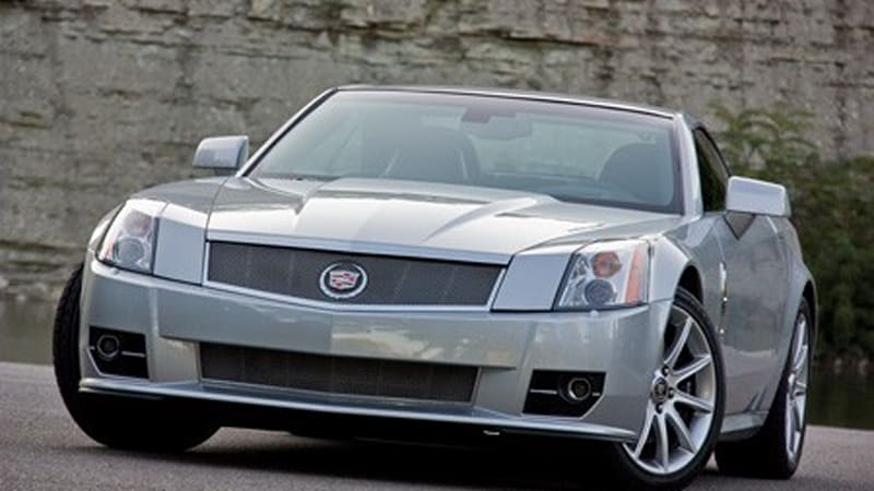 Review 2009 Cadillac Xlr V