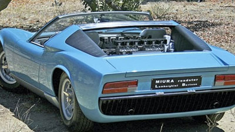 Restoration Completed On One Off Lamborghini Miura Spyder Autoblog