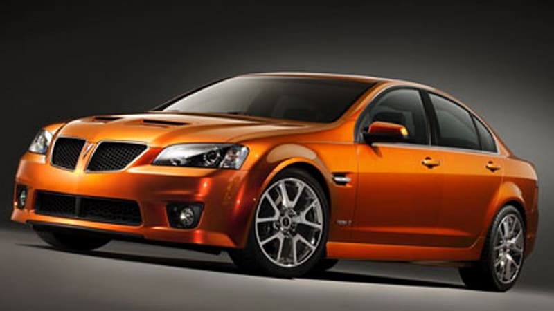 Pontiac g8 gxp officially rated at 415 hp autoblog sciox Image collections