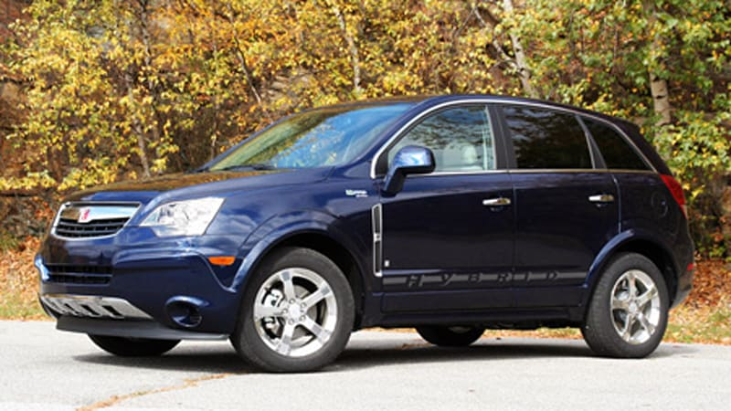 first drive 2009 saturn vue 2 mode hybrid autoblog. Black Bedroom Furniture Sets. Home Design Ideas