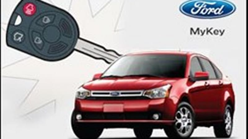 Ford Introduces Car Limiting Mykey For Worried Pas