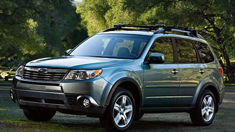 Subaru Forester Named Motor Trend Sport Utility Of The Year Autoblog