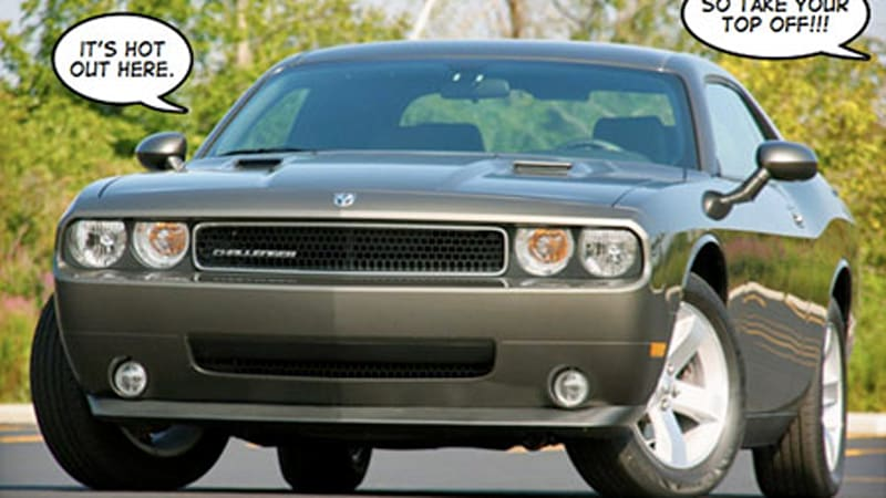 Dodge Quotes Interesting Sorry Dodge Isn't Doing A Challenger Convertible  Autoblog