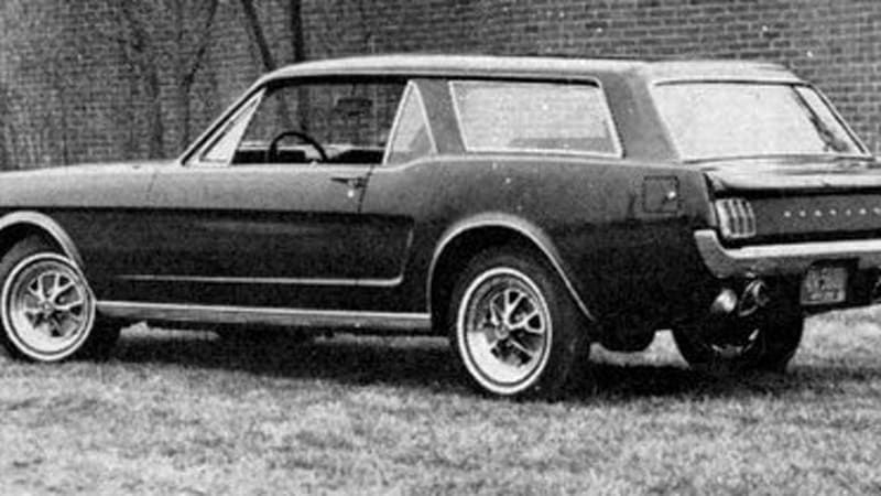 1965 Mustang Station Wagon >> Lost History Of Mustang Station Wagon Uncovered Autoblog