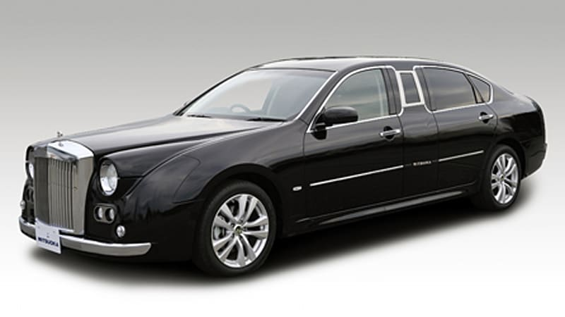 Mitsuoka Galue S50 Limousine Plops Onto The Scene Autoblog