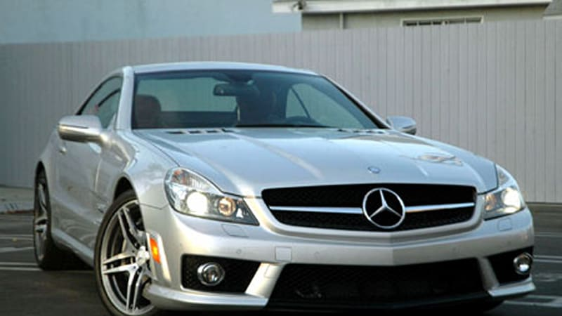 Review 2009 Mercedes Sl63 Amg And Sl600 Autoblog