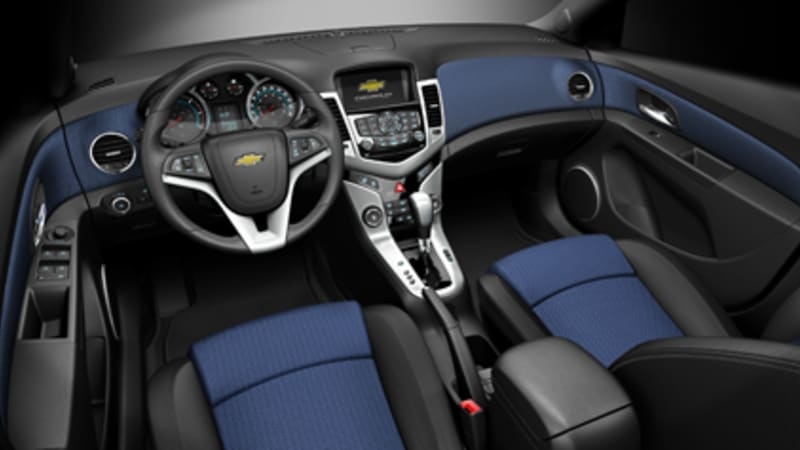 filled generous the chevrolet chevy cruze interior and tech
