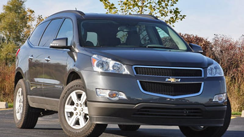 review 2009 chevrolet traverse lt autoblog. Black Bedroom Furniture Sets. Home Design Ideas