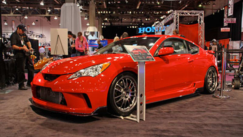 SEMA 2008: Hyundai Genesis Coupe Tuned By HKS And Street Concepts   Autoblog