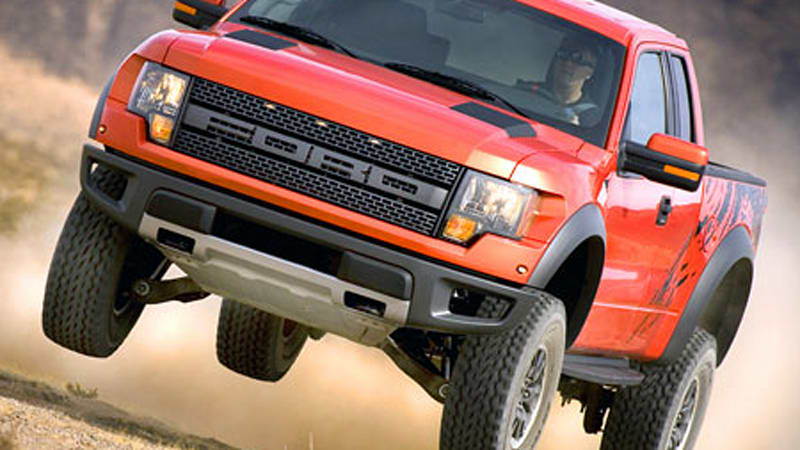 SEMA 2008: Ford F-150 SVT Raptor unveiled in its natural