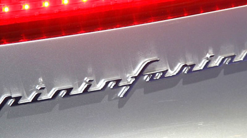 Pininfarina To Cease Contract Manufacturing Transfer Ownership To