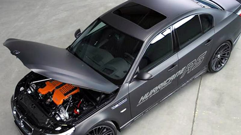 G Power Takes 4 Door Sedan Top Speed Record With M5 Hurricane Rs