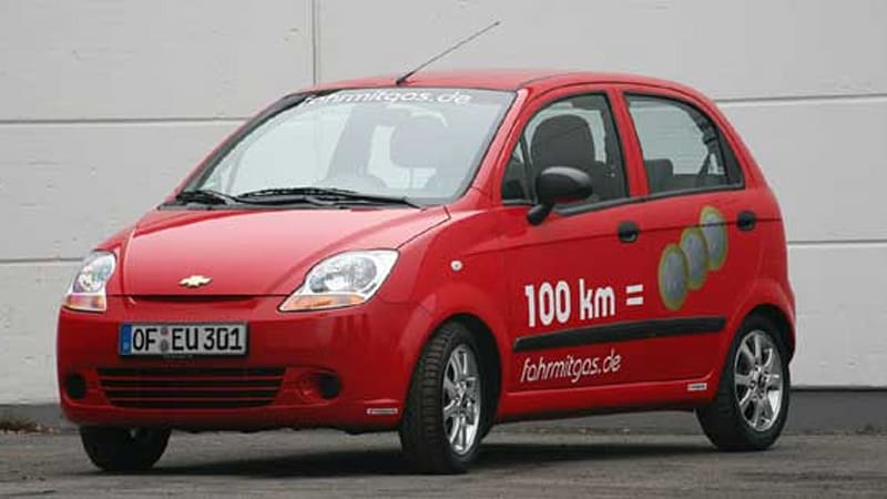Autogas Chevrolet Matiz Concept Lpg For The Masses Autoblog