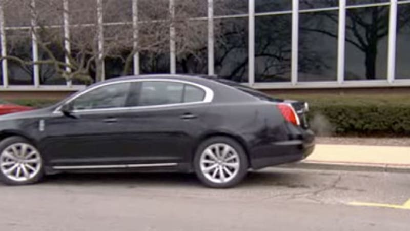 Video Ford Demonstrates Automatic Parallel Parking Autoblog