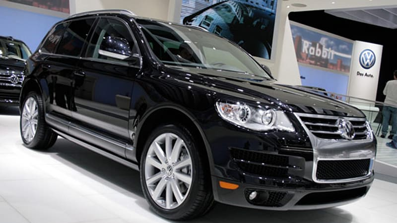 detroit 2009 volkswagen touareg lux limited sports j crew colors autoblog. Black Bedroom Furniture Sets. Home Design Ideas
