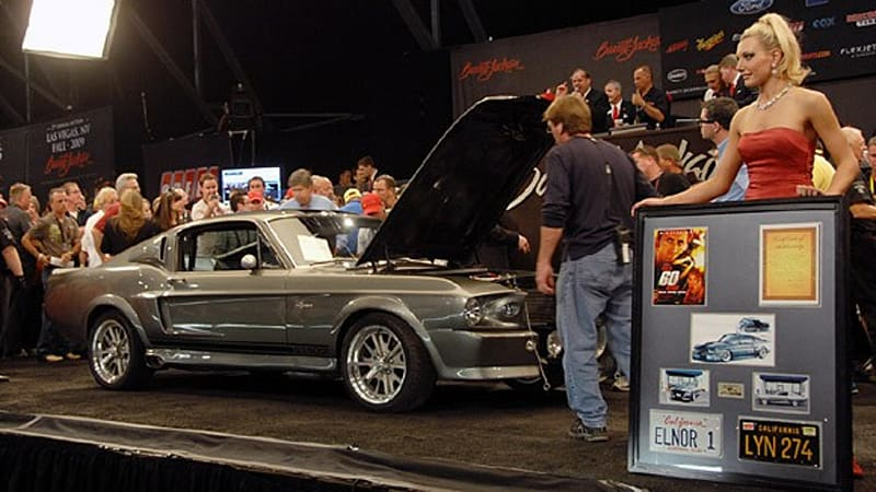 Barrett-Jackson 2009: Gone in 60 Seconds Eleanor Movie Car - Autoblog