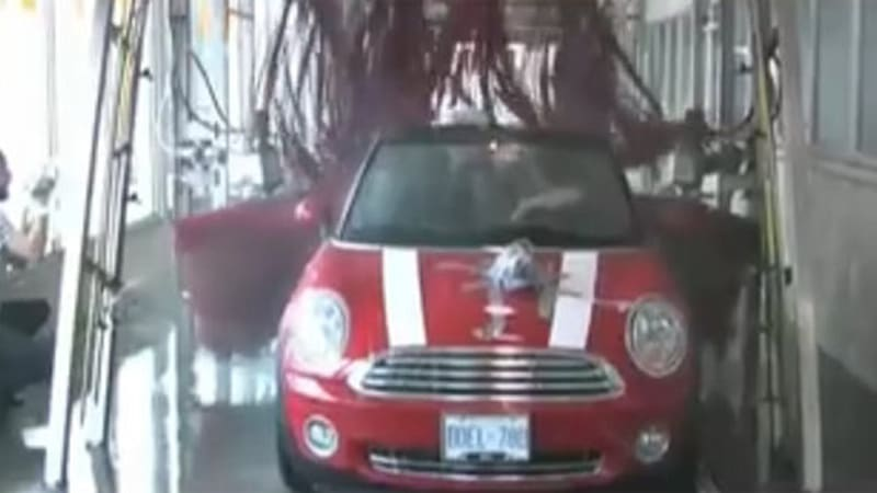 Video How Not To Wash Your New Mini Convertible