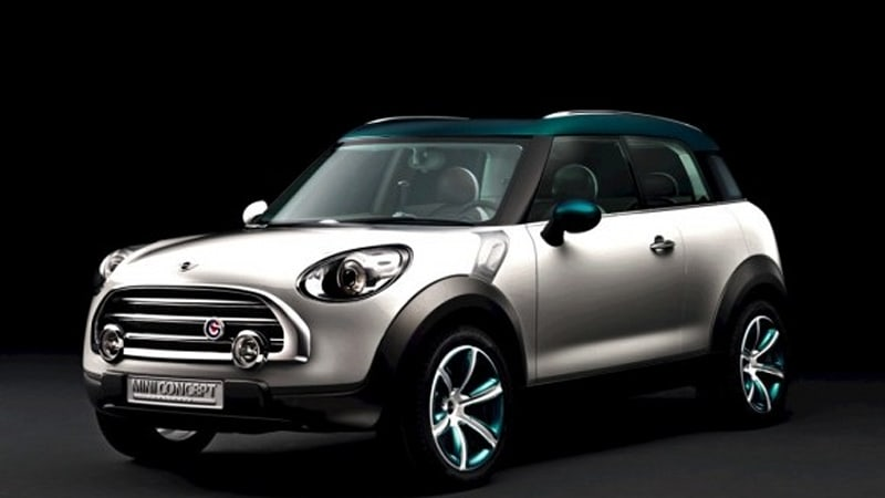BMW Trademarks Countryman For Mini Crossover Name