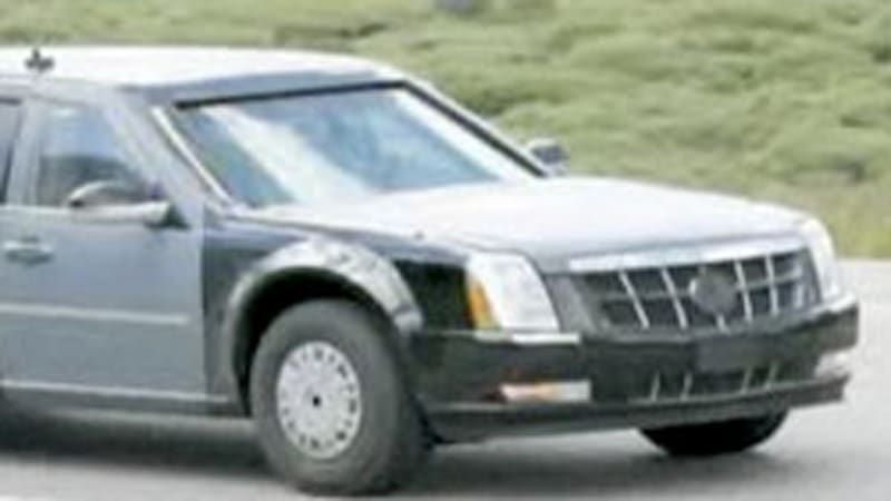Cadillac One: Details on president-elect Obama\'s new limo - Autoblog