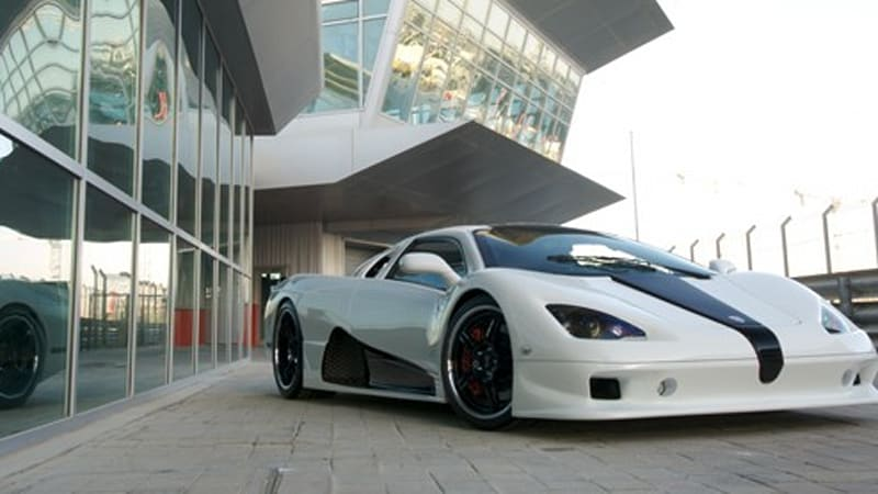 Ssc ultimate aero ev claims 200 mile range 10 minute recharging the unique curves of a supercar tend to attract a lot of attention but these days some people are likely to turn away from a sleek and powerful automobile sciox Choice Image