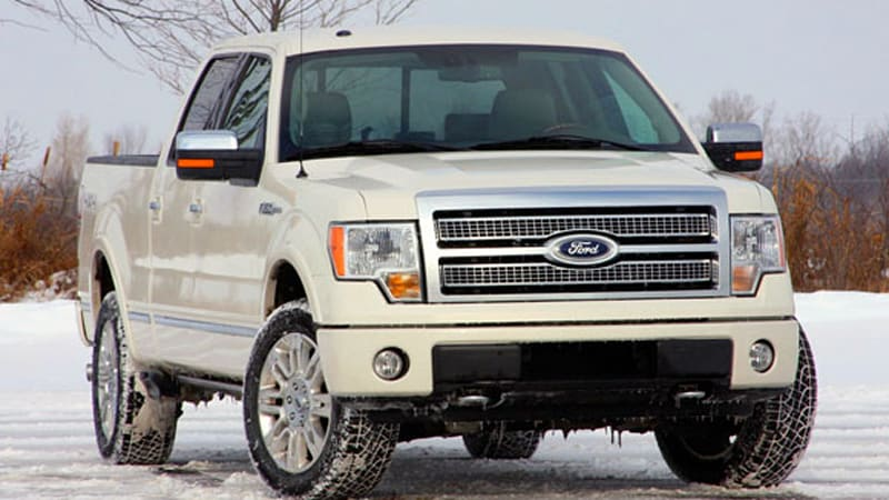 review 2009 ford f 150 platinum 4x4 autoblog. Black Bedroom Furniture Sets. Home Design Ideas