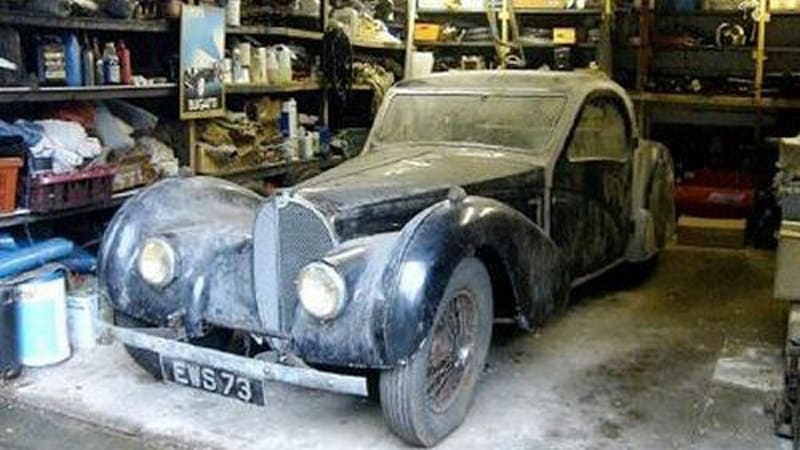 Bugatti Atalantes Dont Come Up For Sale Very Often So When One Unused Example Was Unearthed From The Garage Of Reclusive Late Dr Harold Carr