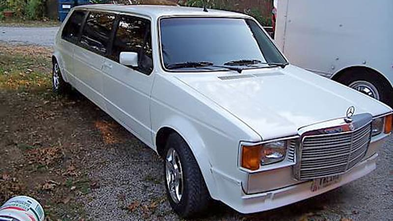 Mein Gott The Only Vw Rabbit Limo With A Mercedes Grille You Ll See