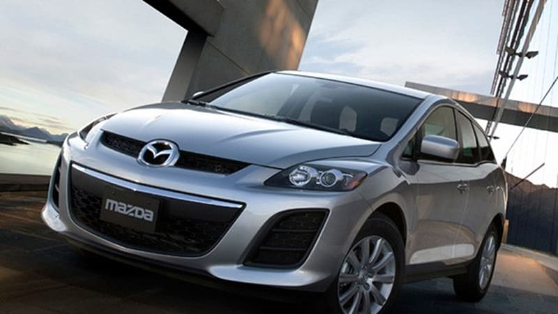 2010 Mazda Cx 7 Debuts With Refreshed Look And New Four Cylinder In Toronto Autoblog
