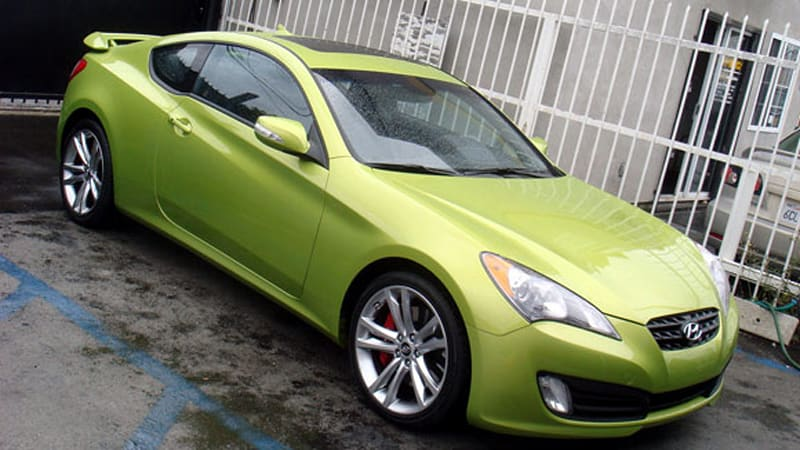 Hyundai Genesis Coupe For Sale >> Hyundai Genesis Coupe Goes On Sale Early A Few First