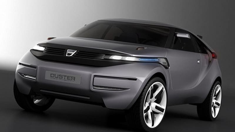 Geneva Preview Dacia Duster Concept First From Low Cost Brand