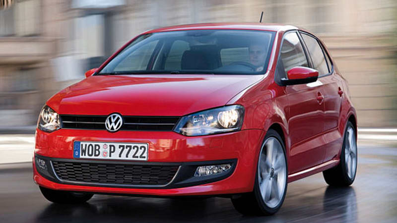 report volkswagen to sell two versions of polo in u s in 2011 autoblog. Black Bedroom Furniture Sets. Home Design Ideas