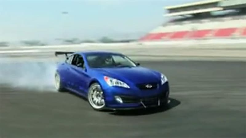 Video 0 60 Gets A Hyundai Genesis Coupe To Tune And Track Autoblog