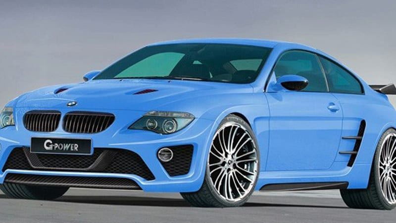 The World S Fastest Bmw Coupe 230 Mph G Power M6 Hurricane Cs