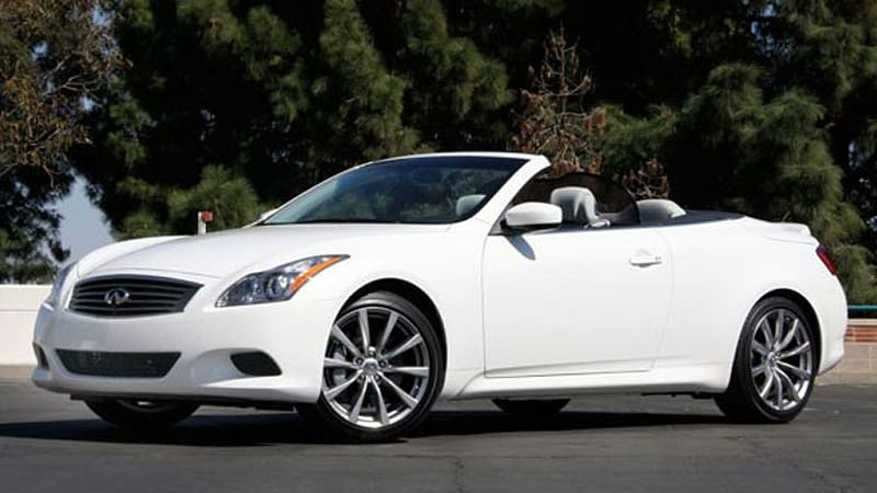 First Drive 2009 Infiniti G37 Convertible Mi6 S Sultry Secretary Has A New Ride