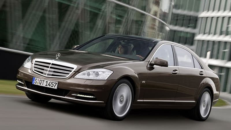 Not Live, Not in NYC: Mercedes-Benz unveils 2010 S600 and S400
