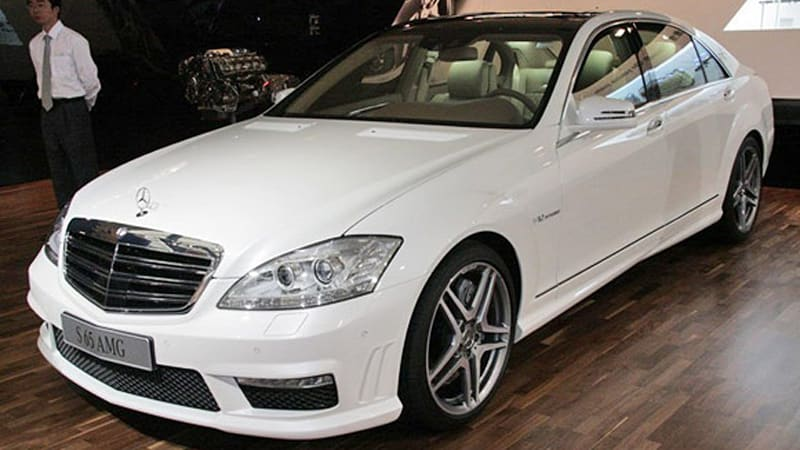 Officially Official MercedesBenz unveils S63 and S65 AMG at
