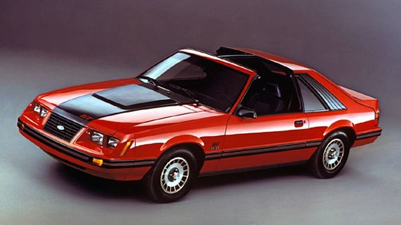 A Look Back At The Eighties As The Ford Mustang Turns 45