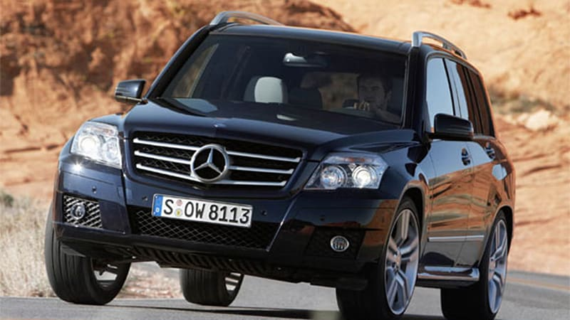Mercedes Adjusting Glk Model Mix Options List To Kickstart Sales