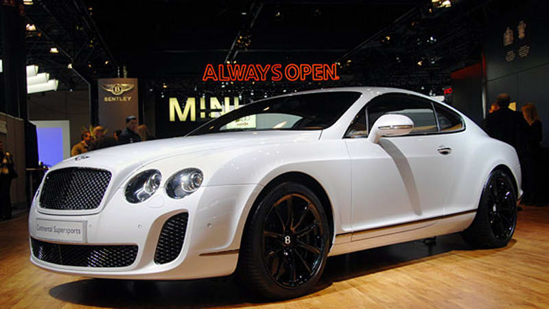 The Price Of Green Bentley Continental Supersports Is 267 000